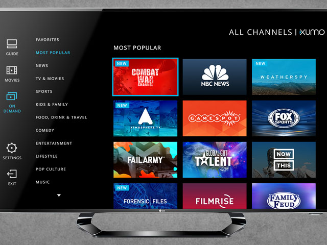Comcast analiza la compra de Xumo TV